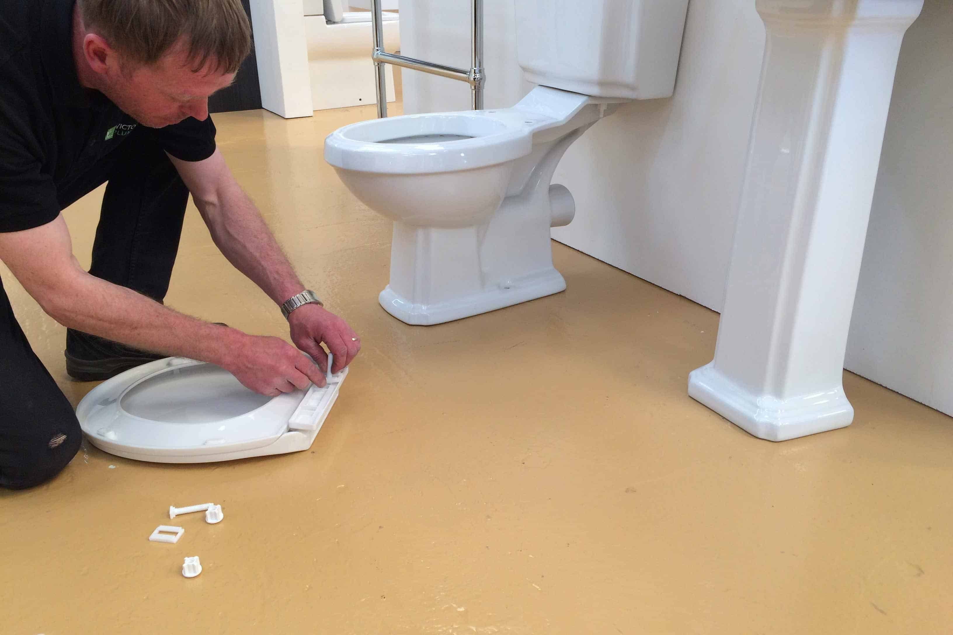 Toilet Seat fitting